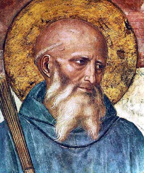untemeljitelj benediktinaca, zaštitnik Europe